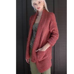 ✨LAST Fired Brick Ultra Cozy Fuzzy Cardigan